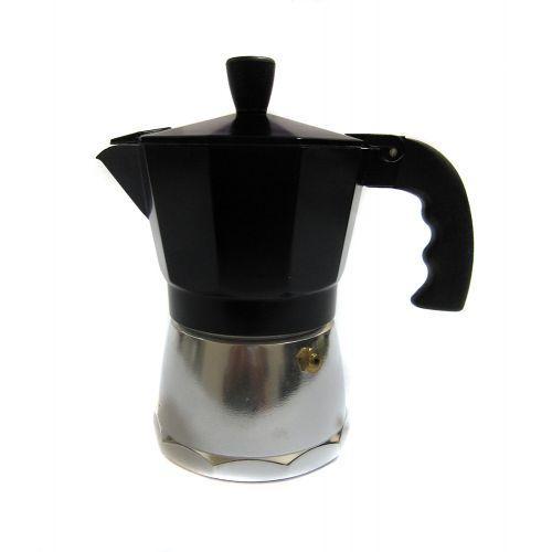 Кофеварка гейзерная 3 чашки R16590 Black, фото 1