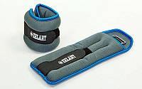 Утяжелители-манжеты для рук и ног ZELART FI-5733-3(BL) (2x1,5 кг) (cеро-голубые)