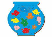 Магнитная рыбалка «Аквариум», 227*182 мм, 062101