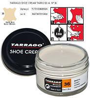 Крем для обуви Tarrago Shoe Cream 50ml, 02 -СПОНЖ