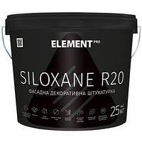 Декоративная штукатурка ELEMENT PRO SILOXANE R20 - Структура Дубовая кора