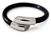ProStyle Silver, 19cm / Силиконово-металлический браслет / Магнитные украшения, повышение иммунитета