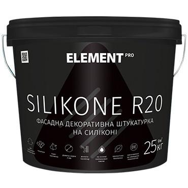 Силиконовый барашек Element Pro Silikone R20 25кг - Матовая фасадная