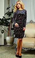 Женское велюровое платье размеры M,L,XL,XXL,52,54,56