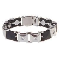 Женские силиконовые браслеты для повышения иммунитета / ProLife for women, 19cm / Магнитные украшения