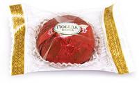 Шоколадные  Трюфели с марципаном в черном шоколаде  фабрика Победа