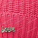 ОПТ Комплект шапка и шарф (труба) для девочки, р. 52-54, подкладка флис, 7087 (5шт/набор), фото 5