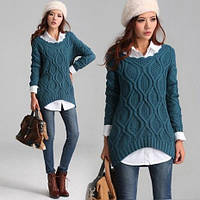 Мода из 90-х возвращается: объемные безразмерные свитера снова в тренде! Будьте стильными вместе с компанией «Мир Опта 7 км»!