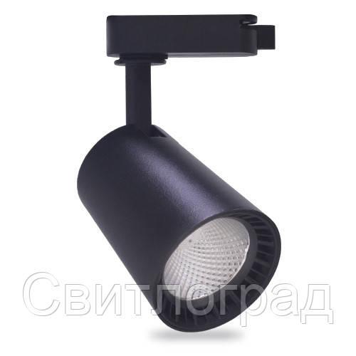 Трековый светильник Feron AL100 8W черный 29614
