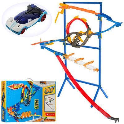 Детский настенный трек ML-32461на стойке аналог Hot Wheels