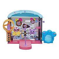 Игровой набор Лител Пет Шоп Стильный парк развлечений Littlest Pet Shop Fun Park Style Set