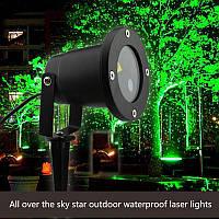 Уличный декоративный профессиональный лазерный проектор Outdoor Laser Shower, фото 1