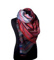 Большой тёплый шарф Bruno Rossi разноцветный