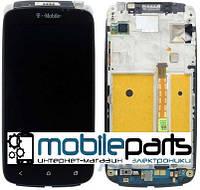 Оригинальный Дисплей (Модуль) + Сенсор (Тачскрин) для HTC One S | G25 | Z320e | Z560e (С рамкой) (Черный)