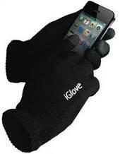 SmartTouch iGlove Black 5 Tip: Теплі рукавички для роботи з сенсорними екранами. Чорні