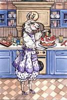 """Почтовая открытка """"Полуничний пиріг"""", фото 1"""