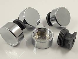 Комплект кріплень для дзеркала хром D-16 мм (4 шт)