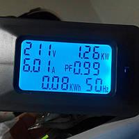 Вимірювач потужності, струму та спожитої електроенергії 6 в 1