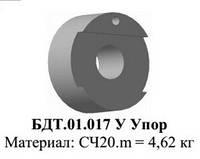 БДТ.01.017У Л Упор к бороне дисковой тяжелой БДВ