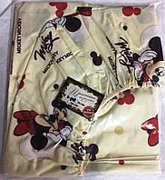 Простынь-резинка детская 70х140 Микки Маус