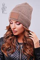 Вязаные женские шапки Стайл-6 нить шерсть-акрил
