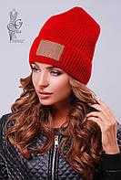 Вязаные женские шапки Стайл-8 нить шерсть-акрил