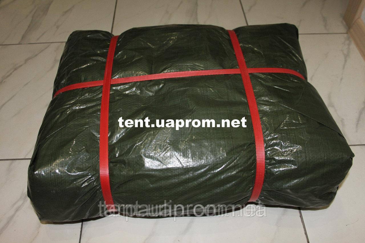 Тент Тарпаулин (130), размер 10х20м плотность 130 гр/м2