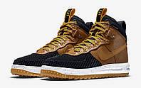 Кроссовки Nike Lunar Force 1 Duckboot Black/Light British Tan