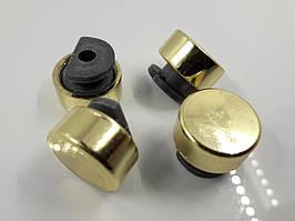 Комплект креплений для зеркала золото D-16 мм. (4 шт)
