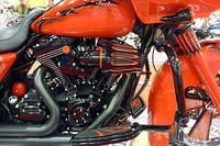 Порошковая покраска мотоцикла и деталей