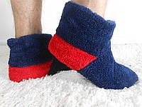 Теплая домашняя обувь мужская