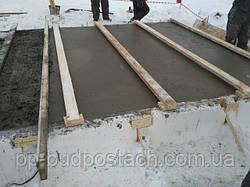 Какие бывают трудности укладки бетонной смеси в условиях холода