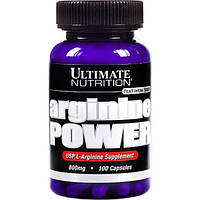 Л-Аргинин Arginine Power Ultimate Nutrition 100 caps