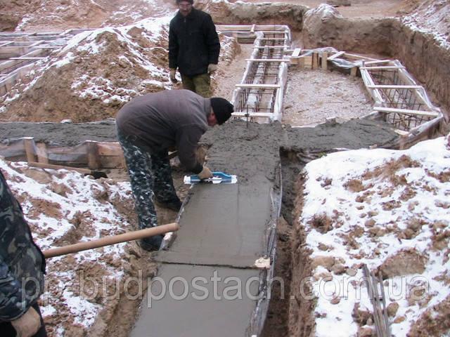 трудности укладки бетонной смеси