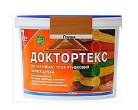 Лазурь-лак антисептический ІРКОМ ДОКТОРТЕКС ІР-013 для древесины груша 3л