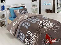 Сменная постель в кроватку полуторная Команда
