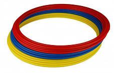Кольца тренировочные (комплект 12 шт, 3 цвета, 50см) + сумка, фото 2