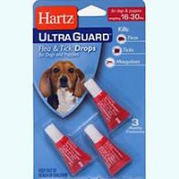 Капли Hartz от блох, клещей и комаров для собак 7-13 кг
