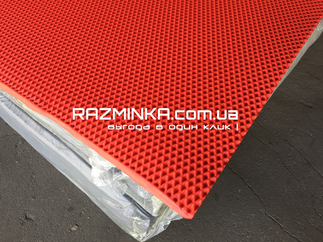 ЭВА (EVA) листы для автоковриков 205х130см, красный