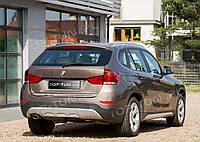 НАКЛАДКА НА ЗАДНЮЮ КРЫШКУ БАГАЖНИКА BMW X1 E84 ХРОМ