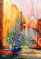 «Весна в Париже» картина маслом