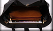Женская сумка классическая с кошельком Melanie Черный, фото 7