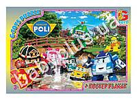 Пазлы картонные, 70 эл. формат А4 Робокар Полли RR067433
