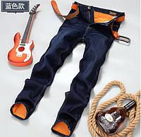 Стильные и модные утепленные зимние мужские джинсы LEE. Отличное качество. Доступная цена. Дешево. Код: КГ2165