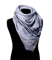 Стильный и теплый палантин grey Акриловый