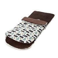 Прогулочный конверт в коляску La Millou Alaska Baribal chocolate
