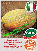 "Дыня ""Паспорт F1"" ранняя 1000 семян ТМ Sais (Италия)"