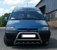 Кенгурятник Fiat Scudo 1996-2007 (WT003 нерж)