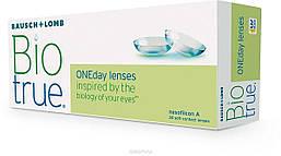 Одноденні контактні лінзи  Bausch+Lomb, Biotrue ONEday, (30 шт.)