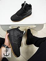 Мужские зимние кроссовки Nike Lunar Force 1 Duckboot (41, 42, 43, 44, 45 размеры)